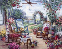Tea Party Fine Art Print