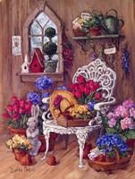 Victorian Shed Fine Art Print