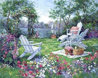 Adirondack Summer Fine Art Print