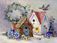 Birdhouse Collection 1 Fine Art Print