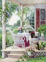 Afternoon on the Veranda Fine Art Print