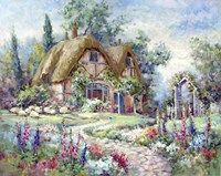 Cottage at Byers Green Fine Art Print