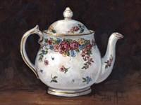 Mixed Blossom Teapot Fine Art Print