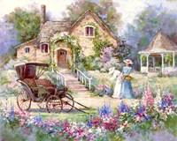 Cottage Afternoon Fine Art Print