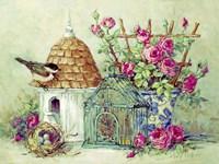 Birdhouse Collection II Fine Art Print