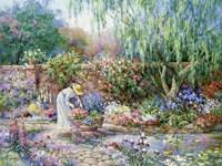 Her Garden Fine Art Print