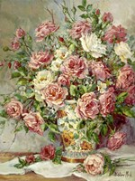 Posies for the Princess Fine Art Print