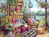 The Lodge Fine Art Print