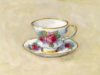 Rose Teacup Fine Art Print