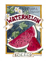Sugar Sweet Watermelon Fine Art Print