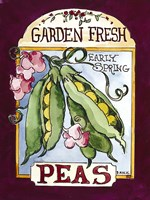 Large Peas Fine Art Print