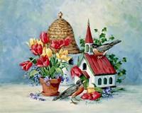 A Robin's Home Fine Art Print