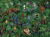 Birds in Paradise Fine Art Print