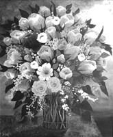 Black and White Bouquet Fine Art Print