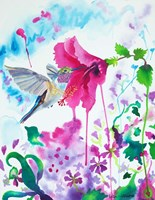 Opening To Grace Fine Art Print