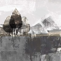 Textured Landscape Fine Art Print