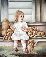 All My Puppies Fine Art Print