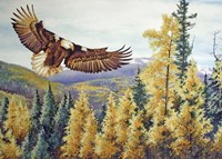 Autumn Flight Fine Art Print