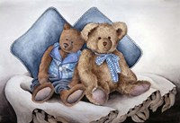 Blue Bears Fine Art Print