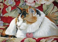 Callie the Calico Cat Fine Art Print