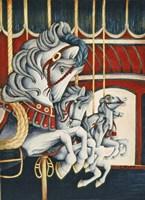 Carousel Race Fine Art Print