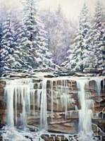 Winter Falls Fine Art Print