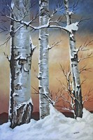 Winter Sunset Fine Art Print