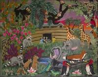 Noah's Ark - Panel 1 Fine Art Print
