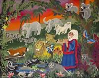 Noah's Ark - Panel 2 Fine Art Print