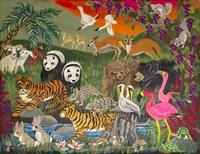 Noah's Ark - Panel 3 Fine Art Print