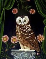 Owl Guardian Print Fine Art Print