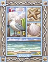 Beach Seagull Fine Art Print