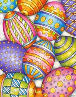 Easter Eggs Fine Art Print