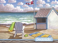 Seaside Beach Fine Art Print