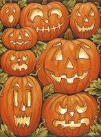 Jack O Lanterns Fine Art Print