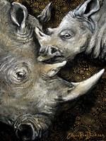 Rhinos Fine Art Print