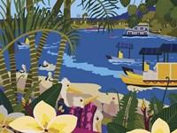 A Tropical Summer Day Fine Art Print