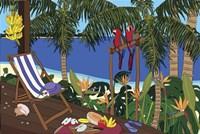 Castaway Paradise Fine Art Print