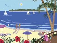 Down By The Seashore Fine Art Print