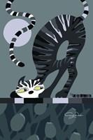 Moonlight Cat Fine Art Print