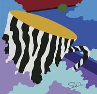 My Zebra Cup Fine Art Print