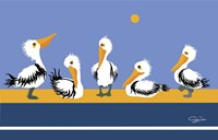 Pelican Parade Fine Art Print