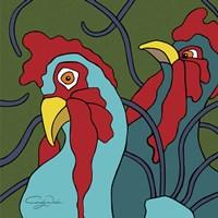 Spring Chickens Fine Art Print