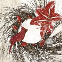 Cardinal Christmas I Fine Art Print