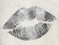 Hollywood Kiss Silver Fine Art Print