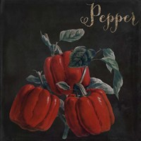 Medley Pepper Framed Print