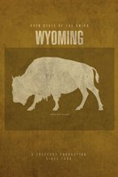 WY State of the Union Fine Art Print