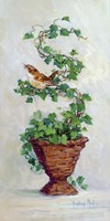 Ivy Topiary III Fine Art Print