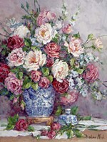 Her Majesty's Roses Fine Art Print