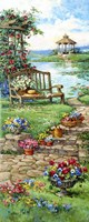 Gazebo Garden Fine Art Print